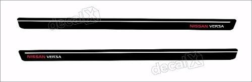 Adesivo Faixa Lateral Nissan Versa 3m Ver61