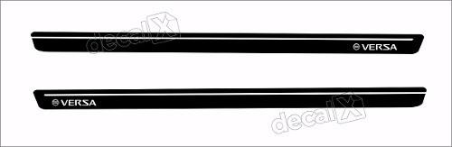 Adesivo Faixa Lateral Nissan Versa 3m Ver62