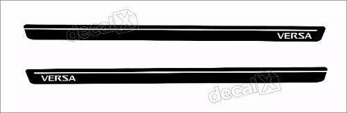 Adesivo Faixa Lateral Nissan Versa 3m Ver63