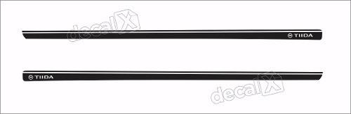 Adesivo Faixa Lateral Nissan Tiida 3m Td52