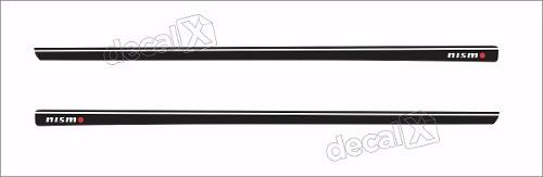 Adesivo Faixa Lateral Nissan Tiida 3m Td55