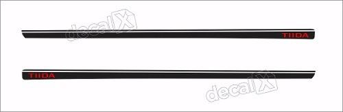 Adesivo Faixa Lateral Nissan Tiida 3m Td54