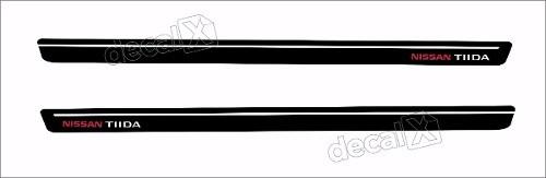 Adesivo Faixa Lateral Nissan Tiida 3m Td56