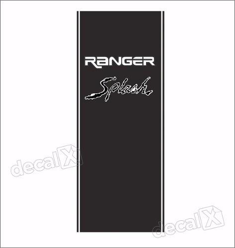 Adesivos Faixa Caçamba Ford Ranger Ran85