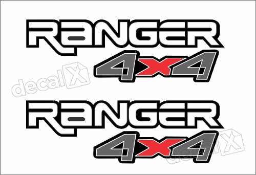 Adesivos Faixa Caçamba Ford Ranger Ran91