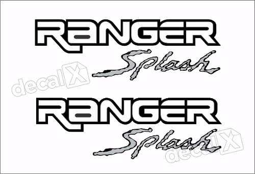 Adesivos Faixa Caçamba Ford Ranger Ran92