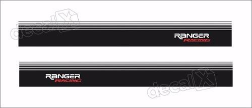 Adesivos Faixa Caçamba Ford Ranger Ran96
