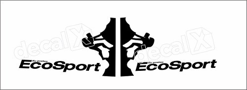 Adesivo Faixas Ford Ecosport 3m Eco001