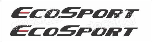 Adesivo Faixas Ford Ecosport 3m Eco004