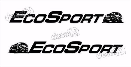 Adesivo Faixas Ford Ecosport 3m Eco008