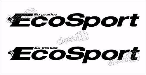 Adesivo Faixas Ford Ecosport 3m Eco009