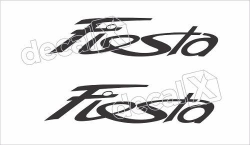 Adesivo Faixa Ford Fiesta Fst006
