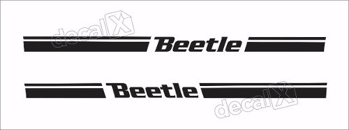Adesivo Faixa Lateral Volkswagen Beetle Bee97