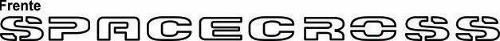 Adesivo Faixa Frontal Volkswagen Spacecross Spccr3