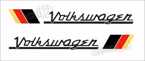 Adesivo Faixa Volkswagen Fusca Fu98