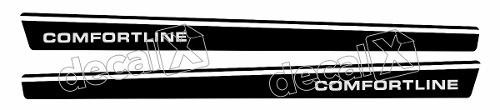 Adesivo Faixa Volkswagen Voyage Vv006