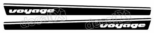 Adesivo Faixa Volkswagen Voyage Vv010