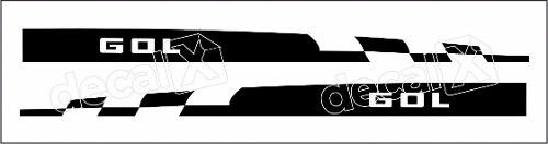 Adesivo Faixa Volkswagen Gol Golmf001