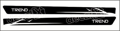 Adesivo Faixa Volkswagen Gol Golma004