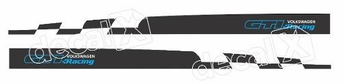 Adesivo Faixa Lateral Volkswagen Golf 3m Gmb007