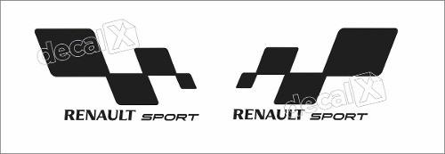 Adesivo Faixa Renault Megane Symbol 3m Symb19