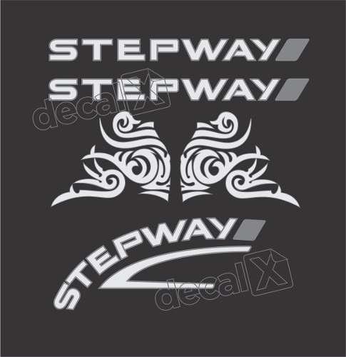 Kit Adesivo Faixa Renault Sandero Stepway 2013 Sdro65