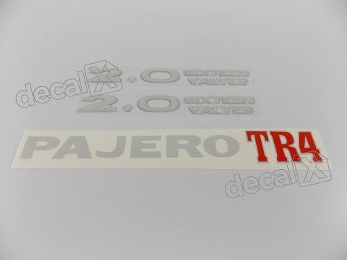 Kit Adesivos Pajero Tr4 2.0 Sixteen Valves Trsxrs2
