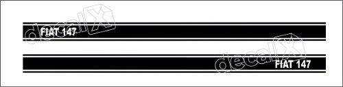 Adesivo Fiat 147 Faixa Lateral 3m 14703
