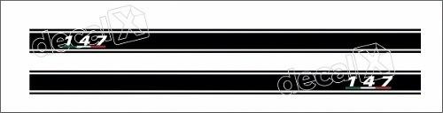 Adesivo Fiat 147 Faixa Lateral 3m 14710