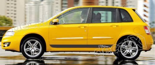 Adesivo Faixa Fiat Stilo 3m Stilo04