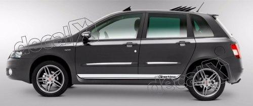 Adesivo Faixa Fiat Stilo 3m Stilo15
