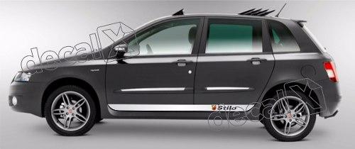 Adesivo Faixa Fiat Stilo 3m Stilo17