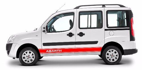 Adesivo Fiat Doblo Faixa Lateral 3m Doblo02