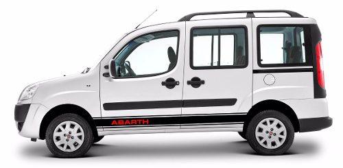 Adesivo Fiat Doblo Faixa Lateral 3m Doblo03