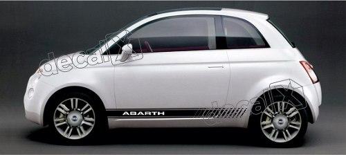 Adesivo Faixa Lateral Fiat 500 3m 50010