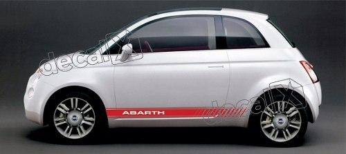 Adesivo Faixa Lateral Fiat 500 3m 50013