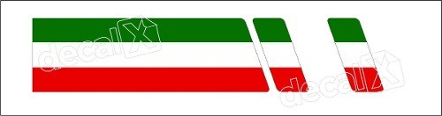 Adesivo Faixa Capo Fiat 500 3m 50016