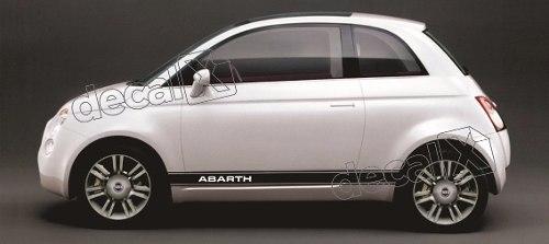 Adesivo Faixa Lateral Fiat 500 3m 50009