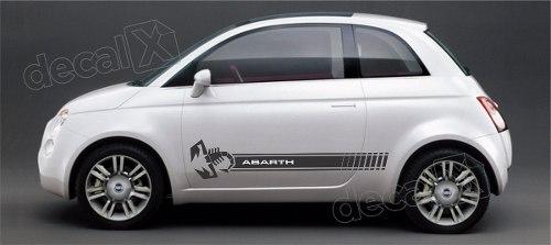Adesivo Faixa Lateral Fiat 500 3m 50019