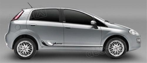 Adesivo Faixa Lateral Fiat Punto Pntof19