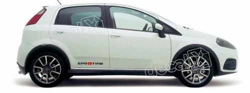 Adesivo Faixa Lateral Fiat Punto Pntof08