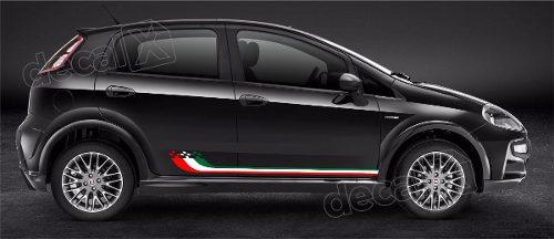 Adesivo Faixa Lateral Fiat Punto Pntof22