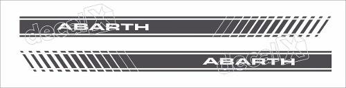 Adesivo Faixa Lateral Fiat Coupe Abarth Coupe08