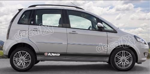 Adesivo Faixa Lateral Fiat Idea Idea02