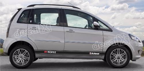 Adesivo Faixa Lateral Fiat Idea Idea04