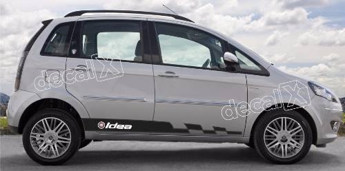 Adesivo Faixa Lateral Fiat Idea Idea06