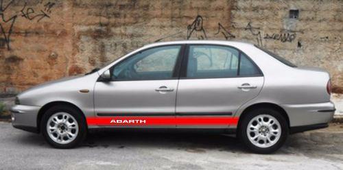 Adesivo Faixa Lateral Fiat Marea Marea01