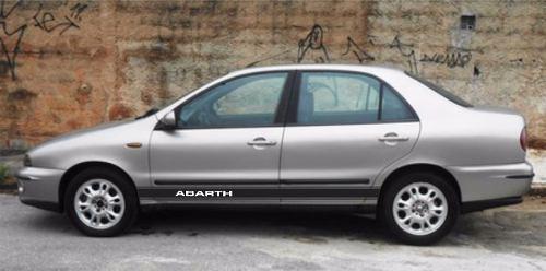 Adesivo Faixa Lateral Fiat Marea Marea02