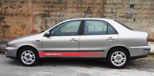 Adesivo Faixa Lateral Fiat Marea Marea04