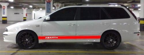 Adesivo Faixa Lateral Fiat Marea Mreaw01